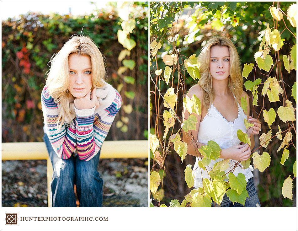 Senior highschool portraits for Elise