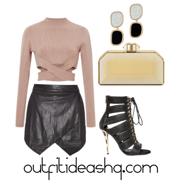 outfit ideas with black skorts 4