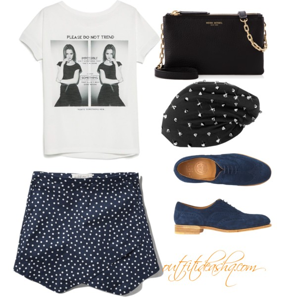 outfit ideas with navy skort 10