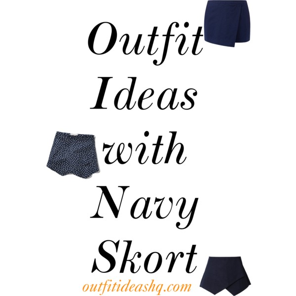 outfit ideas with navy skort 11