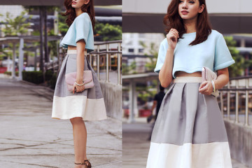 outfit ideas with pleated skirt 8