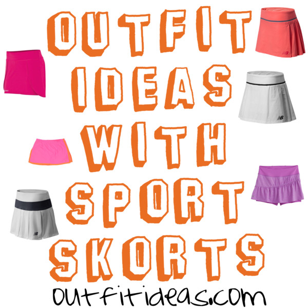 outfit ideas with sport athletic skorts 11