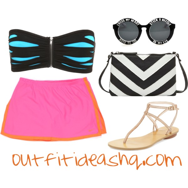 outfit ideas with sport athletic skorts 2