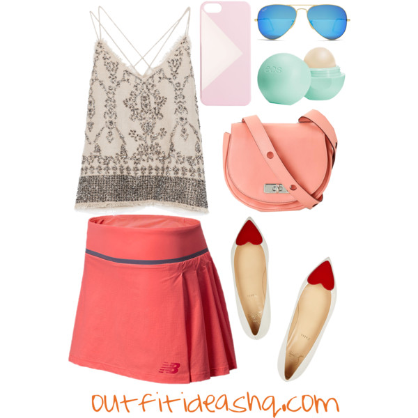 outfit ideas with sport athletic skorts 5
