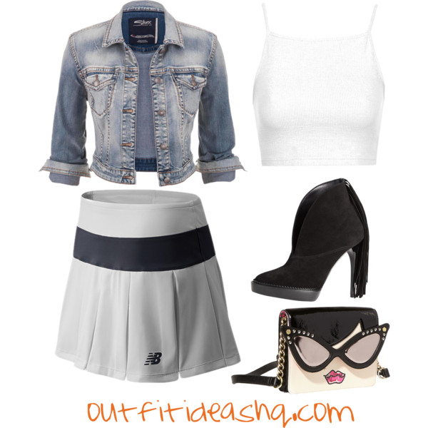 outfit ideas with sport athletic skorts 9