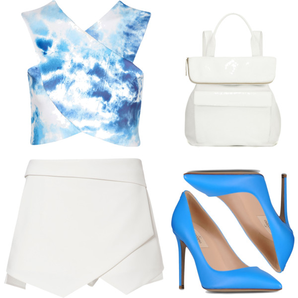 outfit ideas with white pleated tennis skirt 4