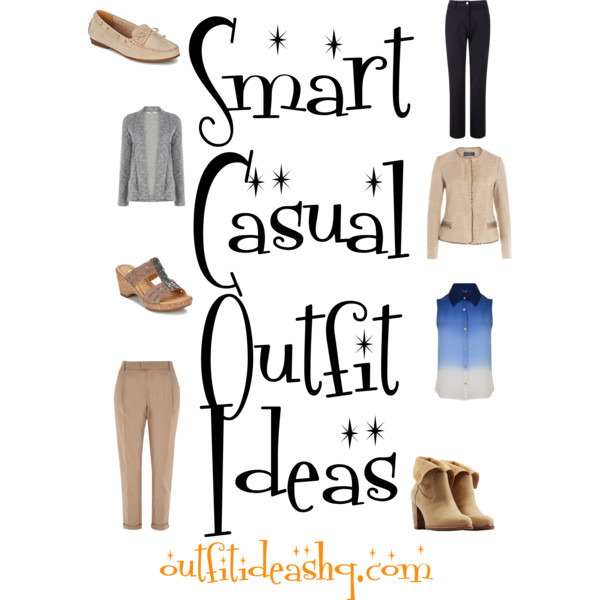Smart Casual Outfit Ideas for Work