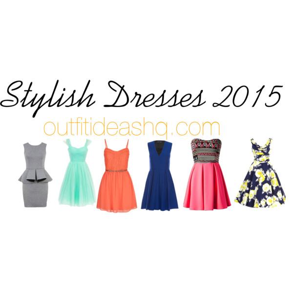 stylish dresses to wear 2015 11