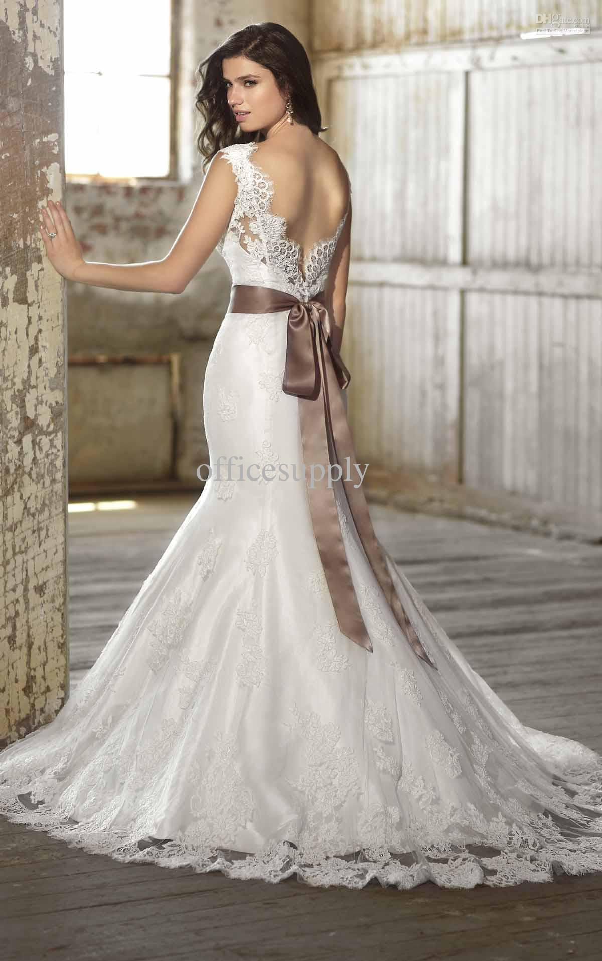 Summer Wedding Gown Dress Inspiration 7