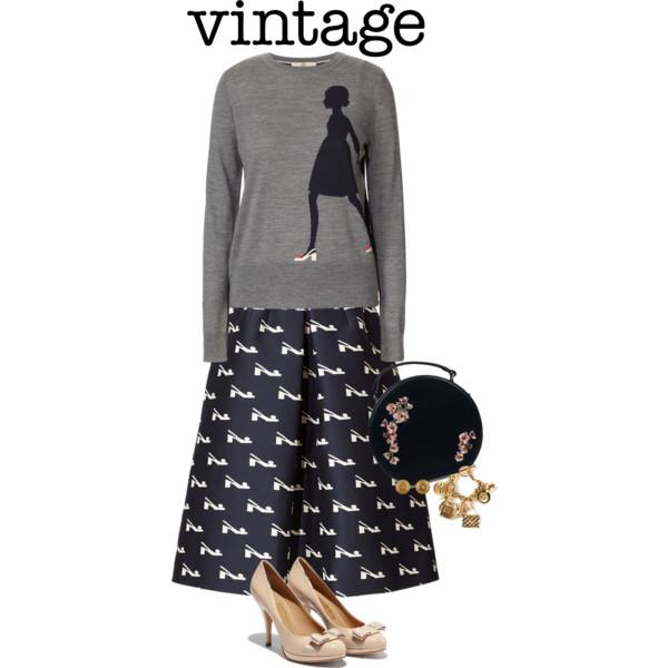 vintage outfit ideas 4