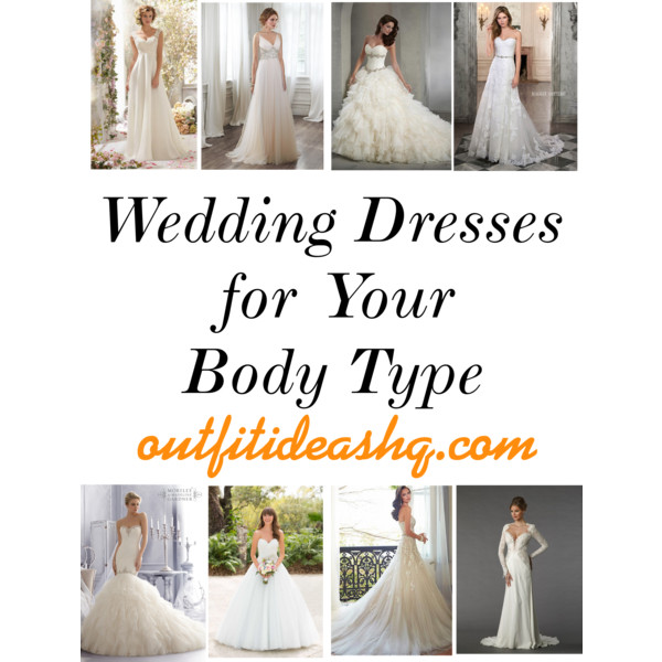 wedding dress for your body type 1