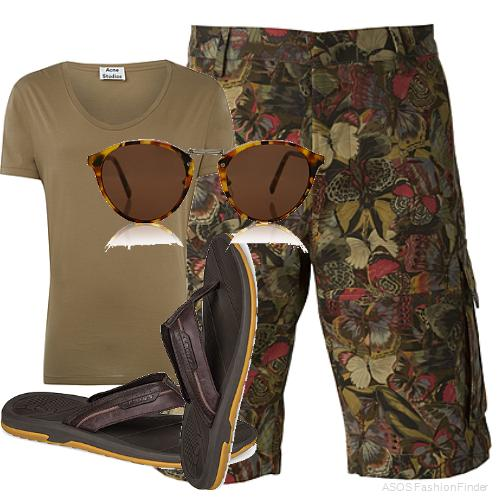 Men's Beach Holiday Outfit Ideas 1