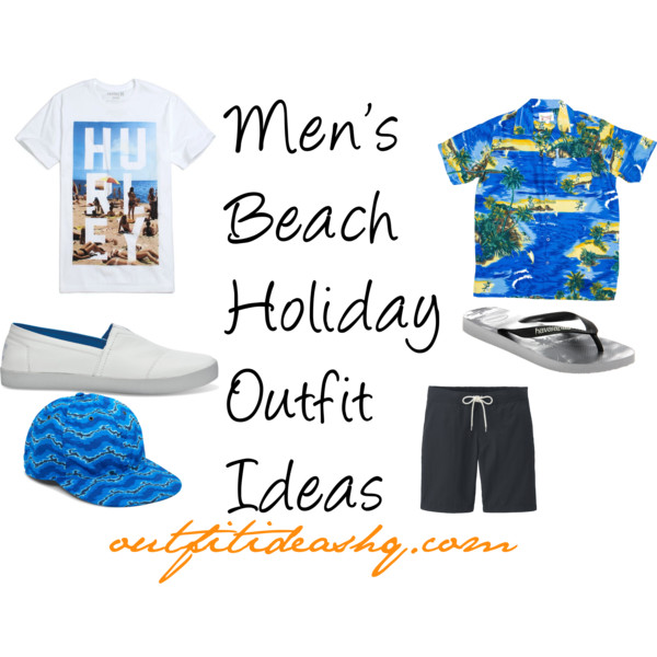 Men's Beach Holiday Outfit Ideas 11
