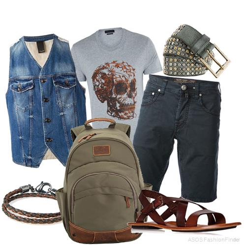 Men's Beach Holiday Outfit Ideas 3