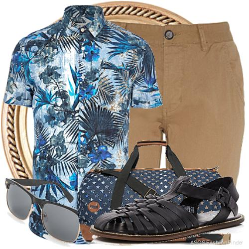 Men's Beach Holiday Outfit Ideas 4