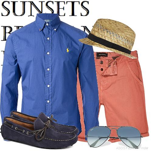 Men's Beach Holiday Outfit Ideas 6