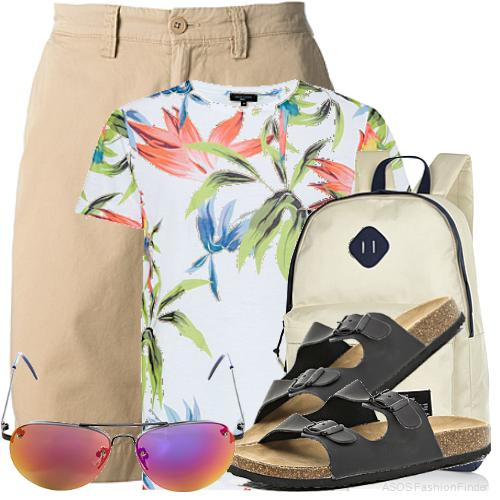 Men's Beach Holiday Outfit Ideas 7