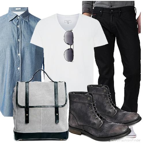 casual lunch dinner outfit ideas for men 3