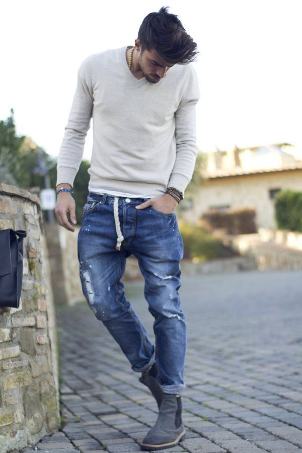 casual spring outfit ideas for men 10