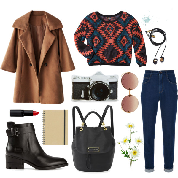 chilly weather outfit ideas for university 1