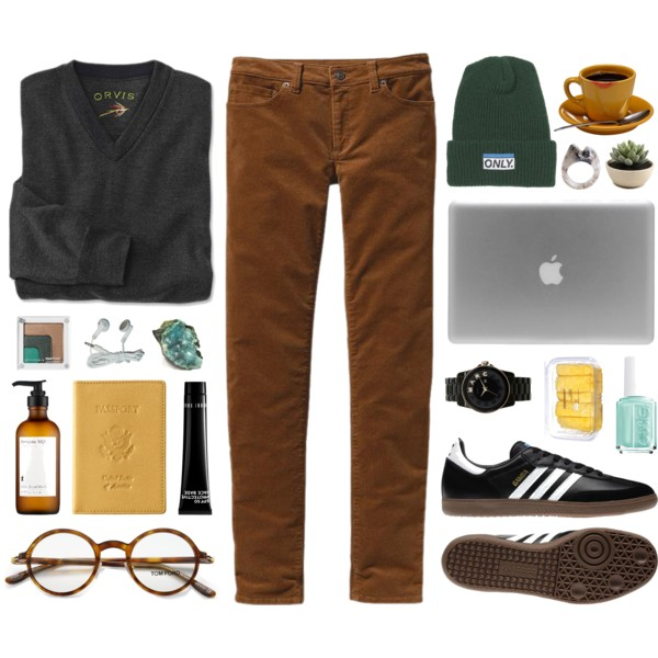 chilly weather outfit ideas for university 7