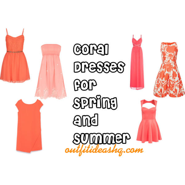 coral dress for spring and summer 11