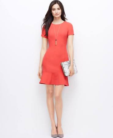 coral dress for spring and summer 5