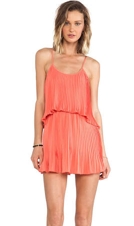 coral dress for spring and summer 9