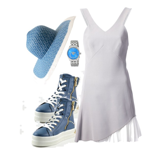 dresses to wear with sneakers outfit ideas 8
