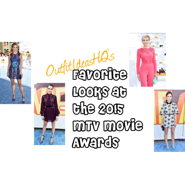 favorite outfits and looks at the mtv movie awards 2015 13