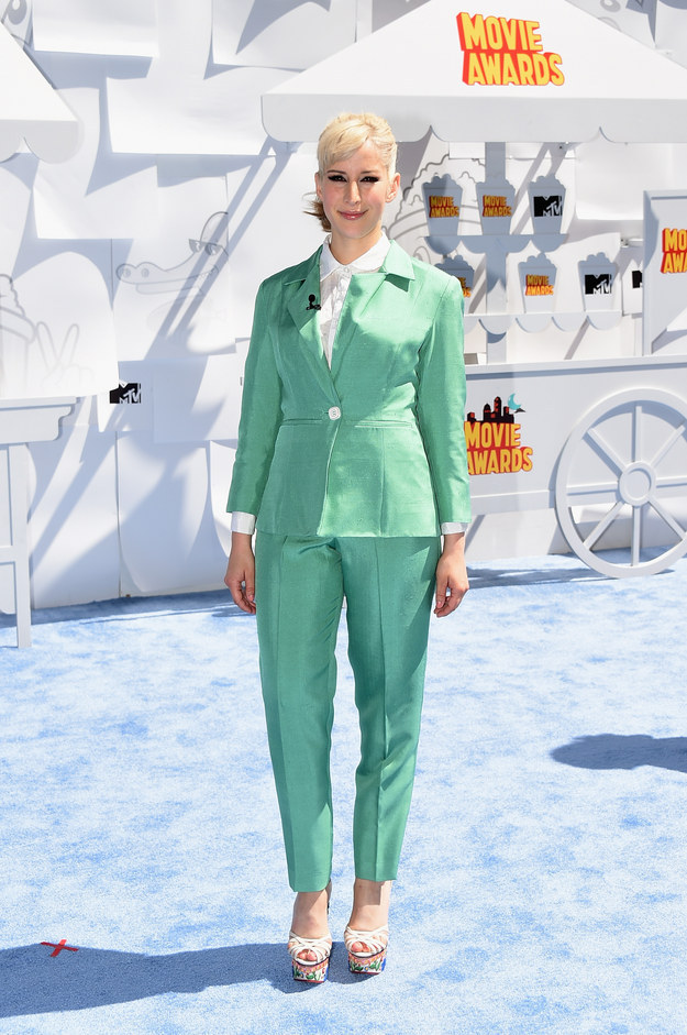 favorite outfits and looks at the mtv movie awards 2015 6
