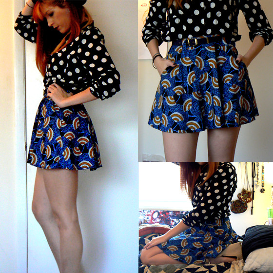 mixing and matching different print and patterns outfit ideas 10