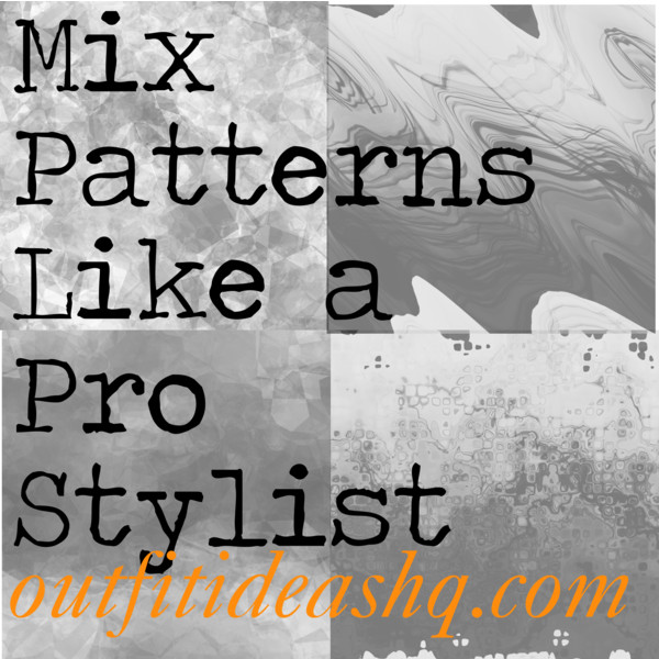 mixing and matching different print and patterns outfit ideas 11