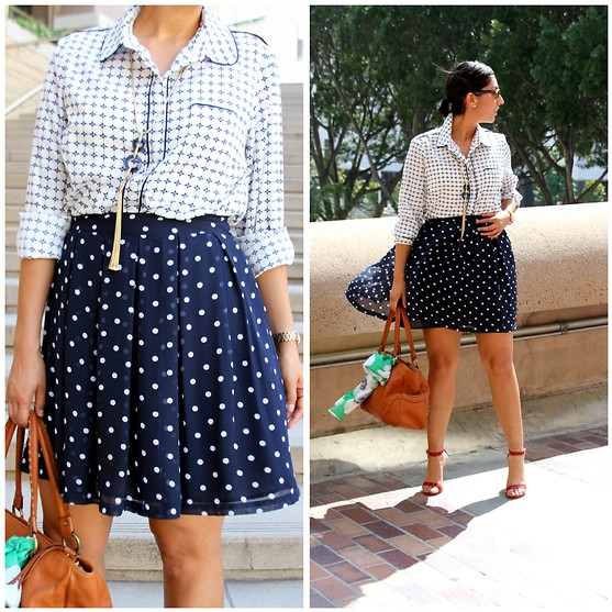 mixing and matching different print and patterns outfit ideas 2