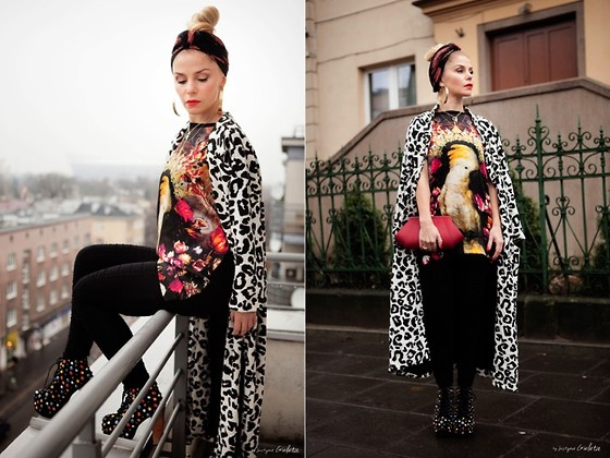 mixing and matching different print and patterns outfit ideas 4