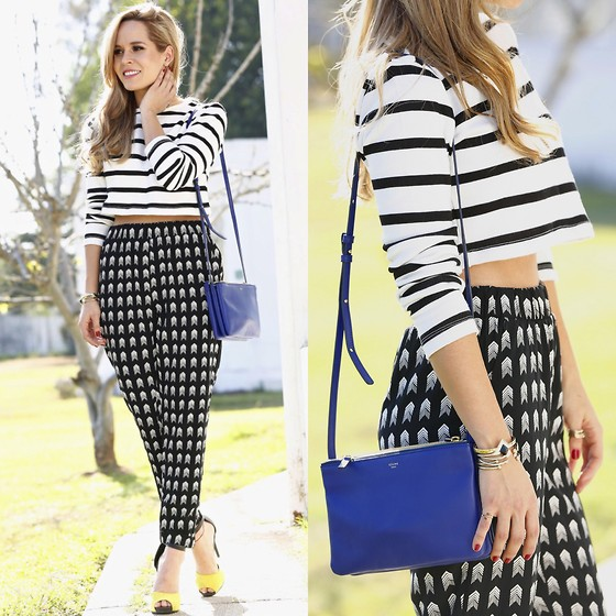 mixing and matching different print and patterns outfit ideas 5
