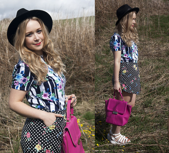 mixing and matching different print and patterns outfit ideas 6