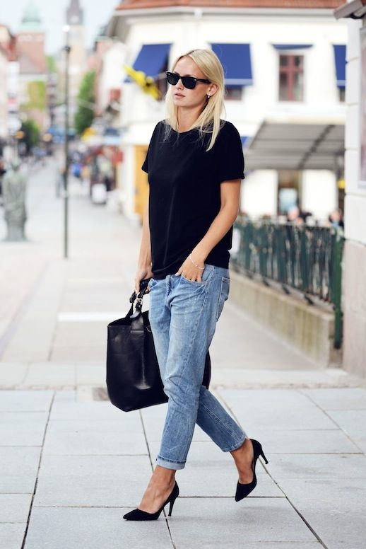 outfit ideas with baggy jeans 1
