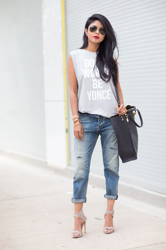 outfit ideas with baggy jeans 2