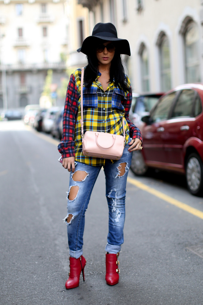 outfit ideas with baggy jeans 9