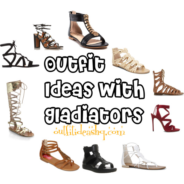 outfit ideas with gladiator sandals 12