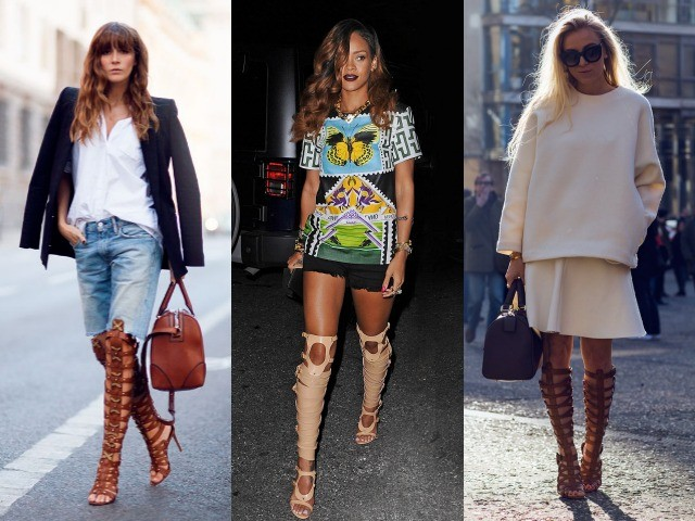 outfit ideas with gladiator sandals 6