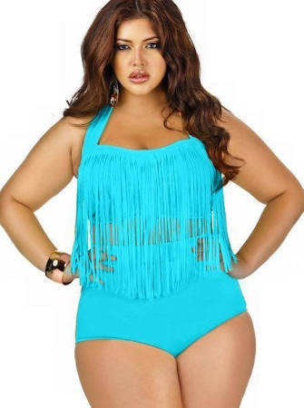 plus size swimwear outfit ideas 1