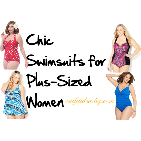 plus size swimwear outfit ideas 12