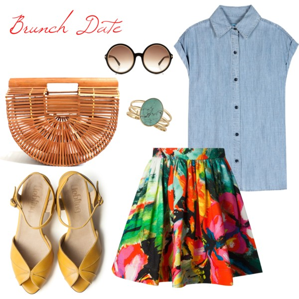 simple brunch date outfit ideas 7