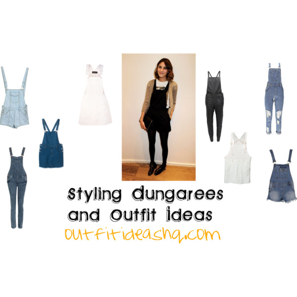styling dungarees and outfit ideas 11