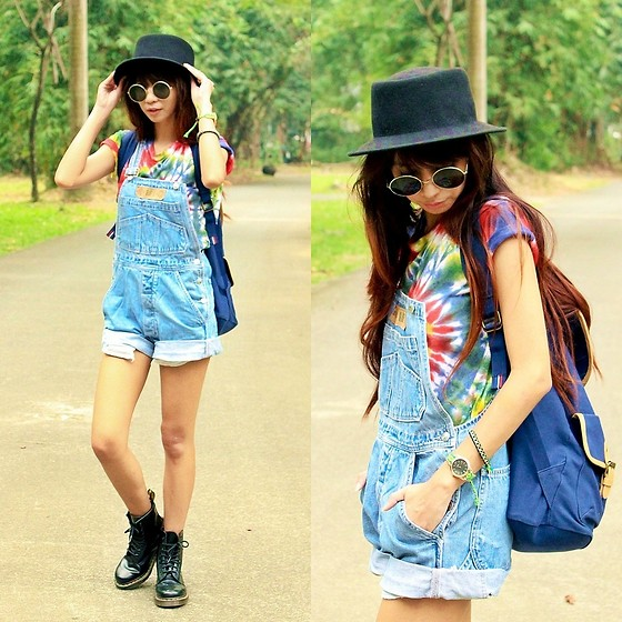 styling dungarees and outfit ideas 4