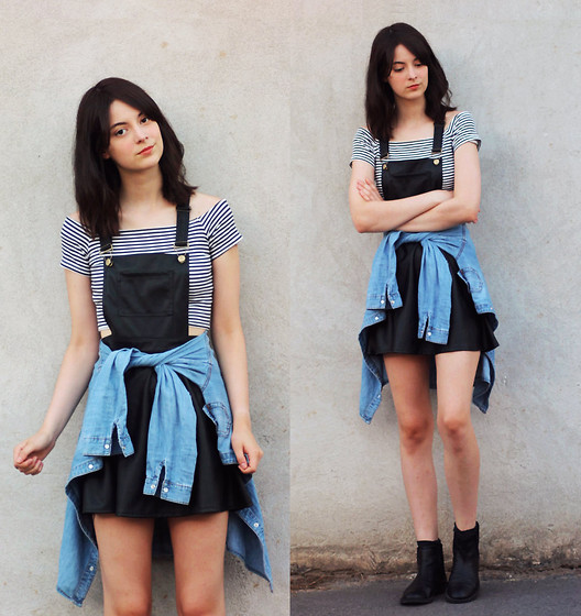 styling dungarees and outfit ideas 6