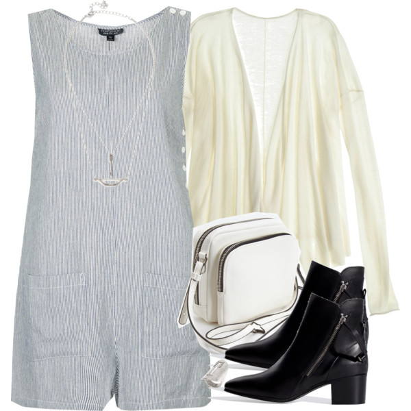 stylish ways to wear a romper playsuit 10