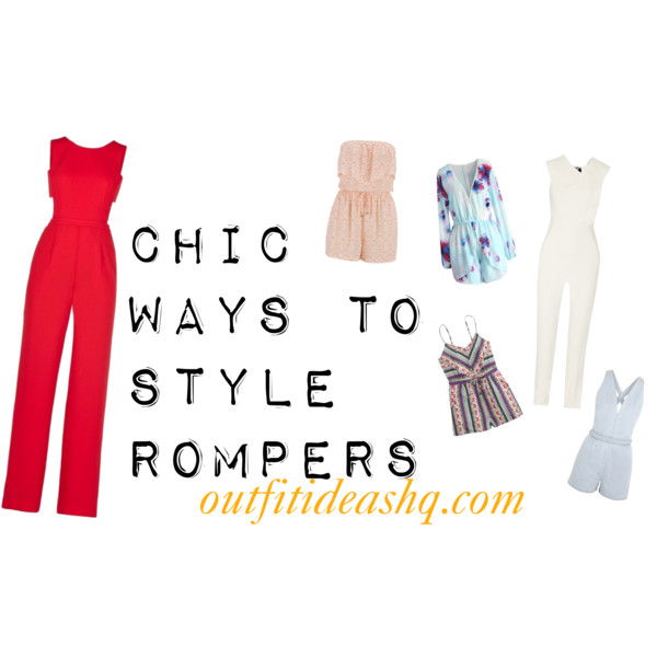 stylish ways to wear a romper playsuit 11